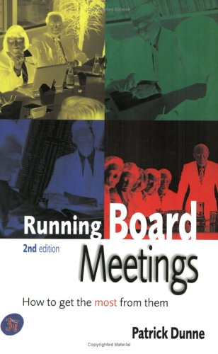 Running Board Meetings