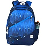 Wildcraft 32 Ltrs Blue Casual Backpack (11658-Blue)