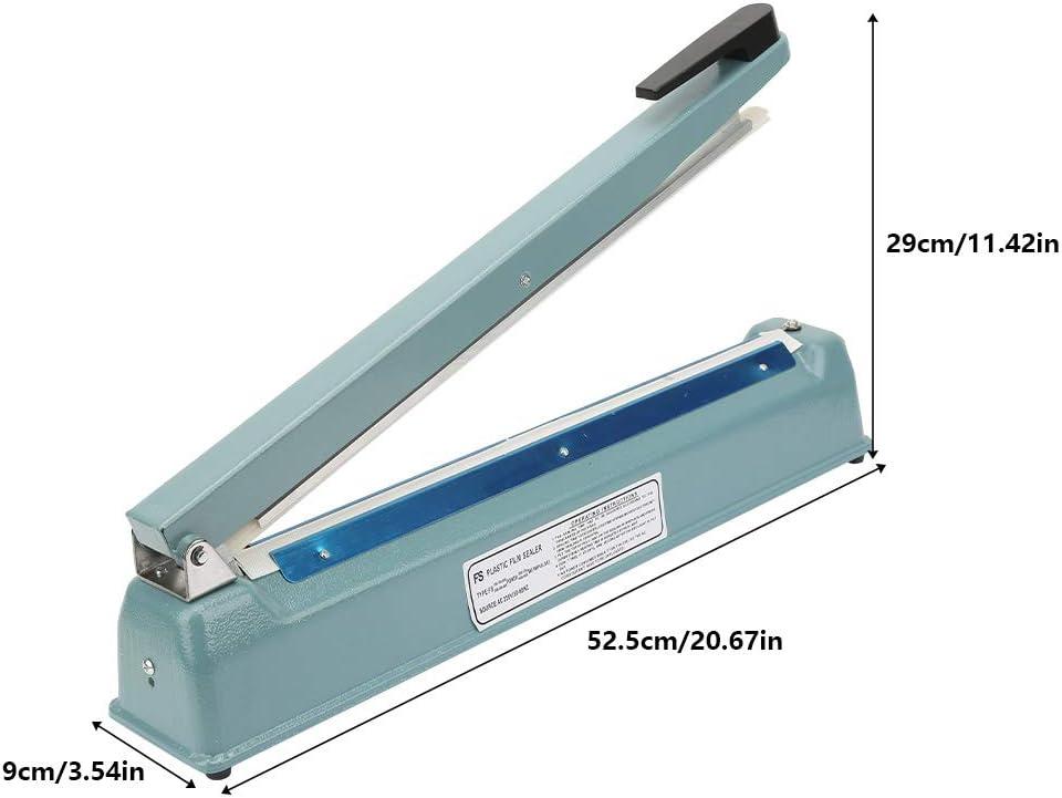 Industrial & Scientific 16 Inches Metal Manual Impulse Sealer Heat ...