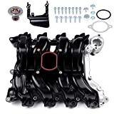 cciyu Intake Manifold with Thermostat Gaskets O-Ring Screws Brackets Fit 01-11 Ford Crown Victoria Ford Crown Victoria Lincoln Town Car Mercury Grand Marquis 02 Ford Explorer Mercury Mountaineer