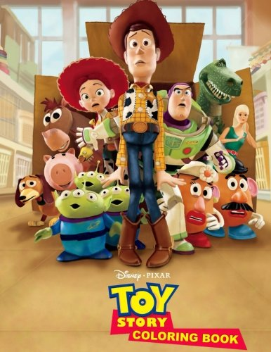 Price comparison product image Disney Pixar Toy Story Coloring Book
