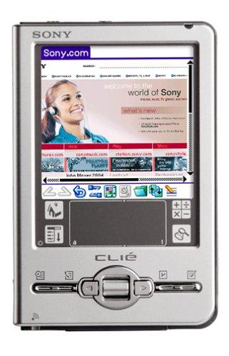 Sony Clie PEG-TJ37/U Handheld (Sony Palm Os Handheld Pda)