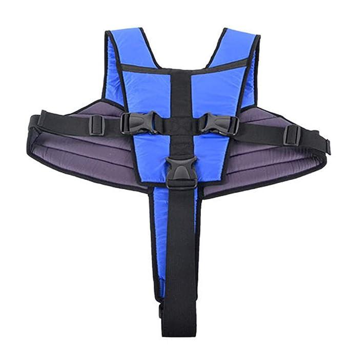 GFYWZ Cinturón Fijo Antideslizante para sillas de Ruedas ...