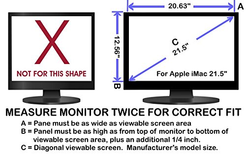 Eyes Pc Blue Light Screen Protector Panel For Apple Imac