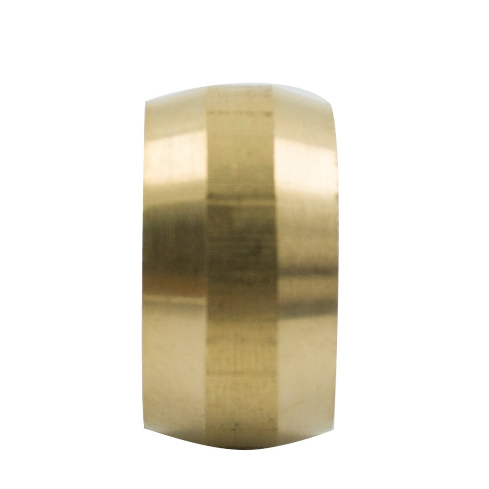 Vis Brass Compression Tube Fitting Pack of 10 Sleeve 5//16 Tube OD Ferrules