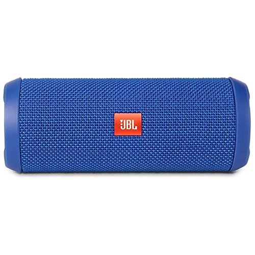 JBL Flip 3 Splashproof Portable Bluetooth Speaker, Blue (Renewed)