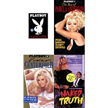 Playboy (4 Pack) with Collector playing Cards - The Best Of Pamela Anderson, Really Naked Truth, Video Centerfold - Jenny Mccarthy