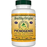 Healthy Origins Pycnogenol (Nature's Super Antioxidant) 100 mg, 60 Veggie Caps