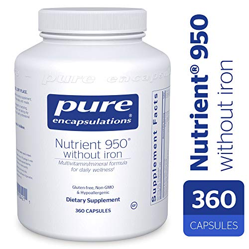 Pure Encapsulations - Nutrient 950 without Iron 360 vcaps MV