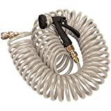 Orbit 27679 Coil Hose with Pistol, 25', Tan
