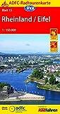 ADFC-Radtourenkarte 15 Rheinland /Eifel 1:150.000, reiß- und wetterfest, GPS-Tracks Download (ADFC-Radtourenkarte 1:150000)