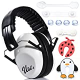 Kids Ear Muffs Hearing Protection W/BONUS childproofing...