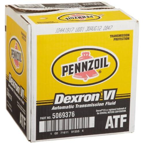 Pennzoil 5069376 Dexron - VI Automatic Transmission Fluid - 1 Quart