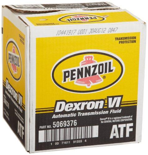 Pennzoil 5069376 Dexron - VI Automatic Transmission Fluid - 1 Quart, - Fluid Pennzoil Transmission