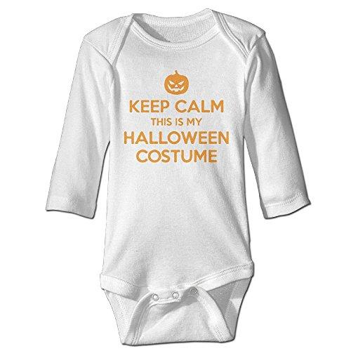 Keep Calm, This Is My Halloween Costume Baby Boys Girls Long-sleeve (12 Month Halloween Costume Walmart)