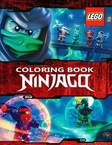 LEGO NINJAGO Coloring Book: 59 Exclusive Illustrations