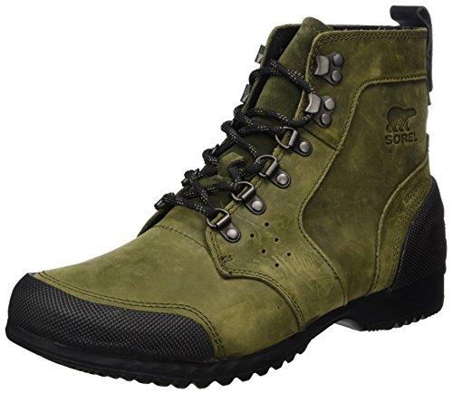 Sorel Ankeny Mid Hiker, Stivali da Neve Uomo Verde (Nori/Black)