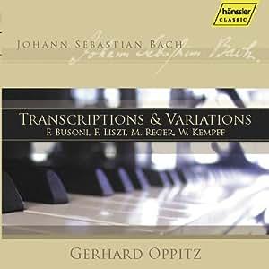 Bach: Transcriptions & Variations