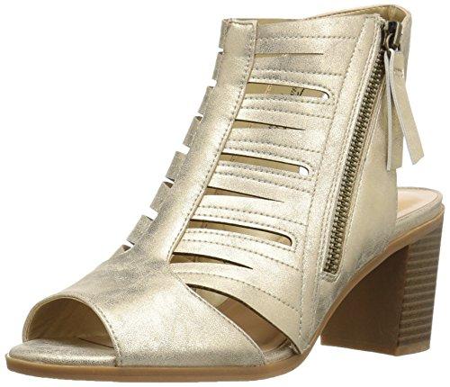 Naisten Karlie Street Easy Kultametallivärillä Kallistuneen Sandaali S7zFwqx