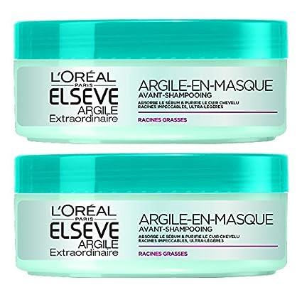 L Oréal Paris Elsève - Maschera all argilla