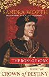 Front cover for the book The Rose of York: Crown of Destiny by Sandra Worth