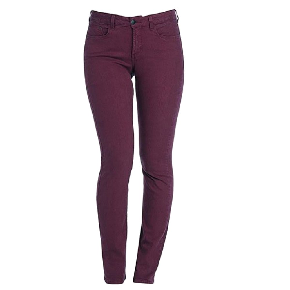 NYDJ Twiggy Tummy Tuck Skinny Stretch Jeans in Merlot