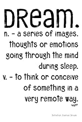 Definition Journal: Dream (Definition Journals) (Volume 3)