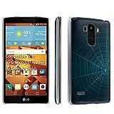 LG G Stylo [LS770 H631] / LG G4 Note Stylus Case, [SkinGuardz] Clear Form Fit Fancy Protection Case - [Spider Web] Print Design -  SkinGuardz for LG G Stylo