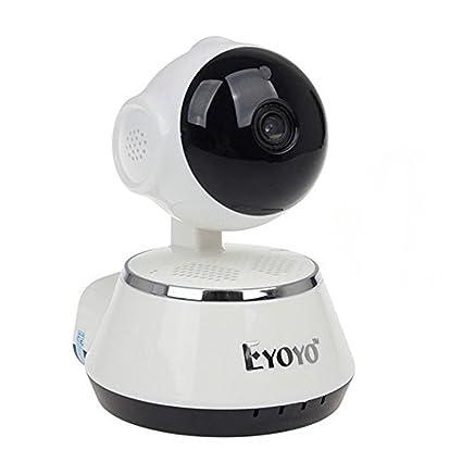 Tomlov WIFI cámara 720P HD monitor de bebé sistema de seguridad casera Vídeo en tiempo real