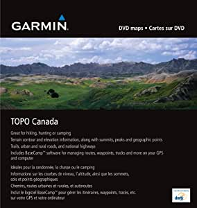 Garmin TOPO! Topographical Maps (Canada) (Discontinued by Manufacturer)