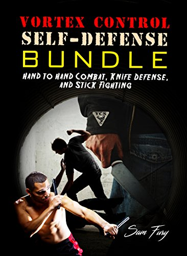 Vortex Control Self-Defense Bundle: Hand to Hand Combat, Knife Defense, and Stick Fighting