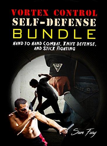 Vortex Control Self-Defense Bundle: Hand to Hand Combat, Knife Defense, and Stick Fighting