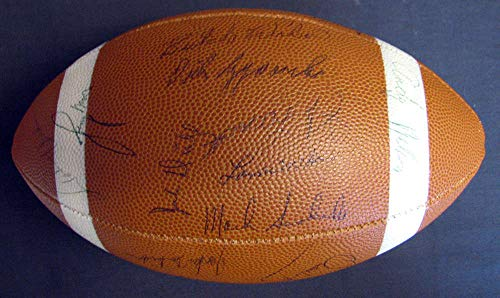 JSA Coa 1963 Baltimore Colts Team Signed Football Johnny - Hall Fame Football 1963 Of