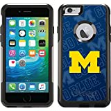 Michigan Watermark design on Black OtterBox Commuter Series Case for iPhone 6 Plus and iPhone 6s Plus