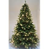7' luxury feel real PE perfect shape artificial Spruce Christmas tree (7ft)