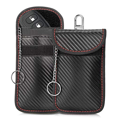 Gr8ware Car Key Signal Blocking Box and Pouch, Large Faraday Box for Car Keys Phones RFID Blocker Case Car Key Safe Box…