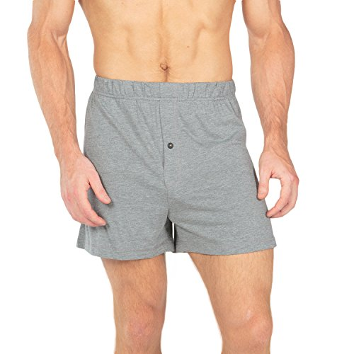 - Texere Men's Boxer Shorts (Sancus, Heather Gray, XL) from Wife