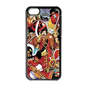 One Piece Anime iPhone 5c Cell Phone Case Black PhoneAccessory LSX_849685