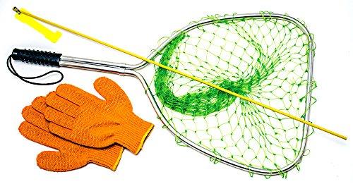 Innovative Scuba Concepts Lobster Kit for Florida Spiny Lobster Season Includes Catch Net, Tickle Stick, Lobster Gauge, Premium Vinyl Gloves and Reusable Mesh Bag GM0220 ()