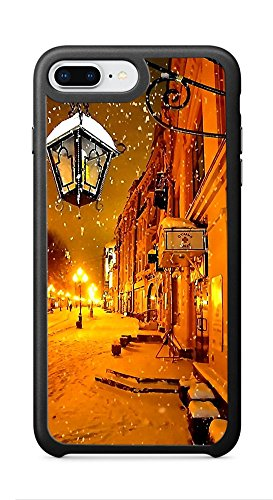 VUTTOO Case for Apple iPhone 8 Plus 5.5inch (Not Fit 4.7inch) - Moscow At Night Case - Shock Absorption Protection Phone Cover Case