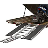 "Rage Powersports 60"" x 54"" Snowmobile Loading Ramp with Center Extension Track"
