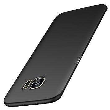 anccer Funda para Samsung Galaxy S7 Edge [Serie Colorida] [Ultra-Delgado] [Ligera] Anti-rasguños Estuche para Carcasa Samsung Galaxy S7 Edge (Negro ...