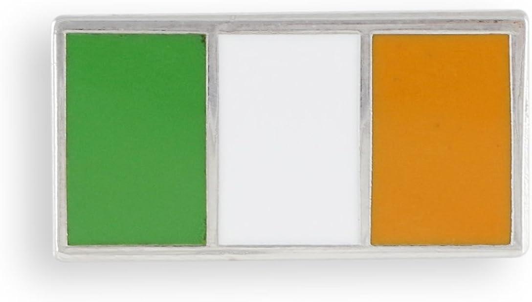IRELAND CLADDAGH /& SHAMROCK ENAMEL LAPEL PIN BADGE