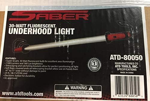 Superbright White LEDS 220V Tool Hub 9566 Under Bonnet Lamp 850 Lumens
