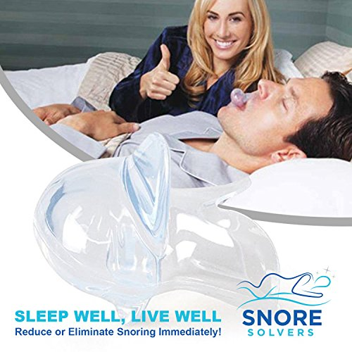Snore Solvers Snoring Solution Tongue Retainer to Reduce or Stop Snoring Anti Snoring Device for Men and Women by Snore Solvers (Image #5)