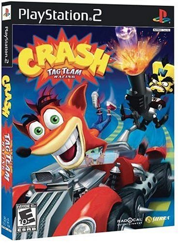 Crash Tag Team Racing - PlayStation 2 (Bandicoot Racing Tag Team Crash)