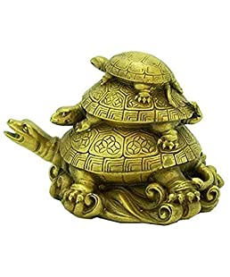 Sethi Traders Three TieredTortoises for Health Wealth and Luck