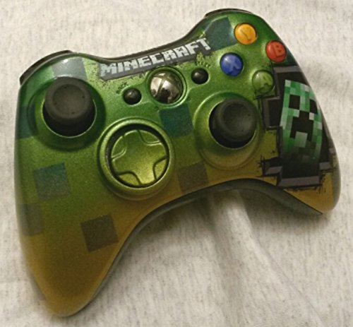 Xbox 360 wireless controller custom Minecraft Inspired (Controller Wireless Xb360)