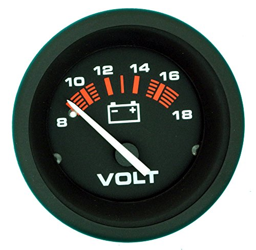 """Sierra 57901P Voltmeter - Amega 2"""", 8-18 VDC"""