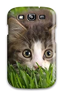Janice K. Alvarado's Shop Snap-on Cat Case Cover Skin Compatible With Galaxy S3